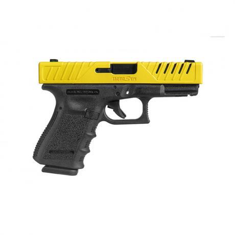 TACTIC SKIN19 - TACTIC SKIN Taktický kryt závěru pro Glock 19, 23, 25, 32, 38 černý